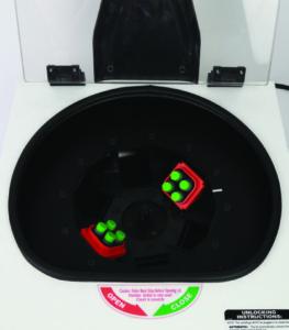 centrifuga tubo dSPE