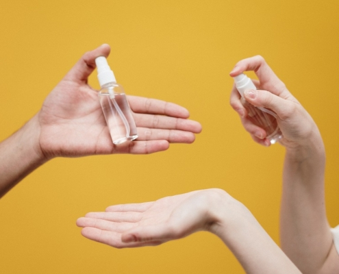 Alcohol gel covid 19 cornavirus lavado de manos cromtek