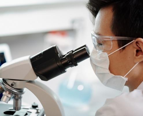 Científico nitrosaminas investigación ciencia laboratorio