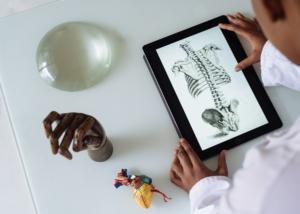 Transformación digital laboratorio ciencia científico digital