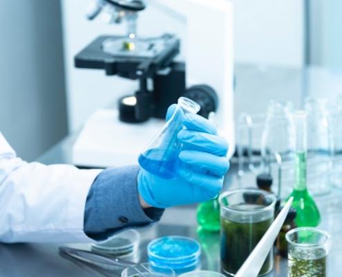 Biorreactor para farmacéutica equipamiento laboratorio