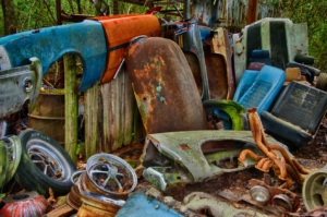 Reciclaje de metal chatarra metales desechos