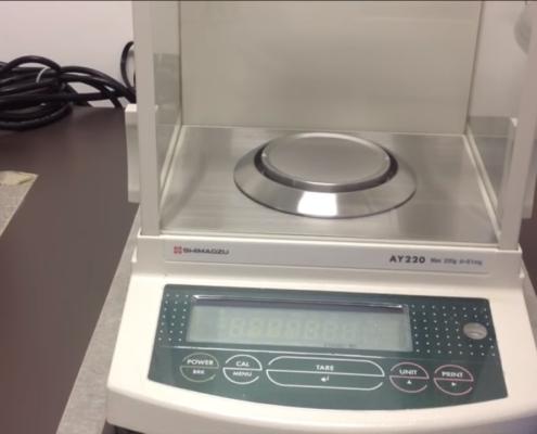Balanza Analítica de laboratorio
