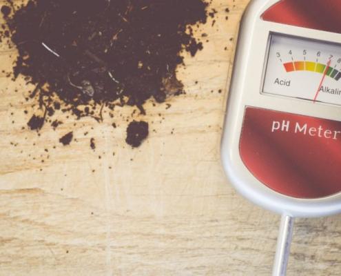 Medidor de PH portátil de laboratorio electroquímica